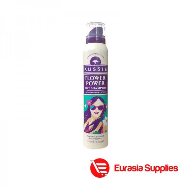 Aussie Flower Power Soft Dry Shampoo 180ml
