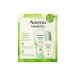 Aveeno Favorites Daily Positively Radiant Moisturizer 120ml & Scrub 140g Gift Set