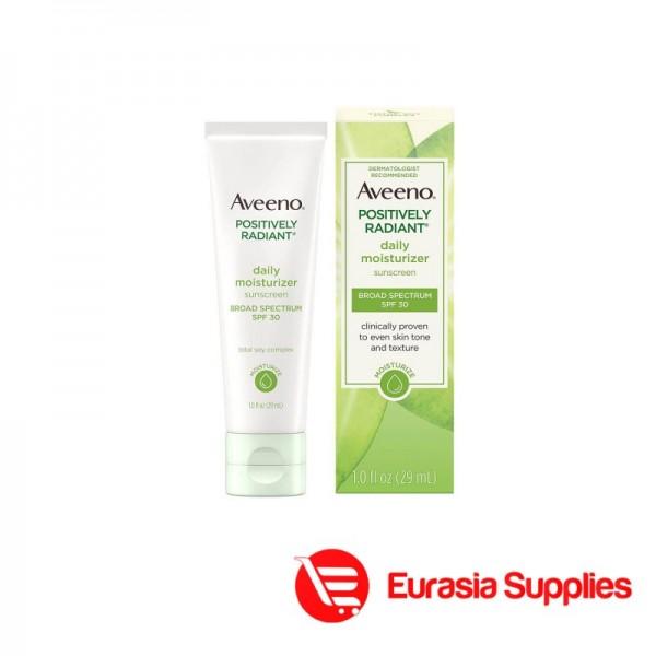 Aveeno Positively Radiant Daily Moisturizer Spf30 29ml