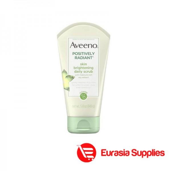 Aveeno Positively Radiant Skin Brightening Daily Scrub – 140g