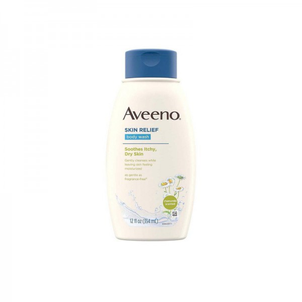 Aveeno Skin Relief Soothes Itchy Dry Skin Body Wash 354ml