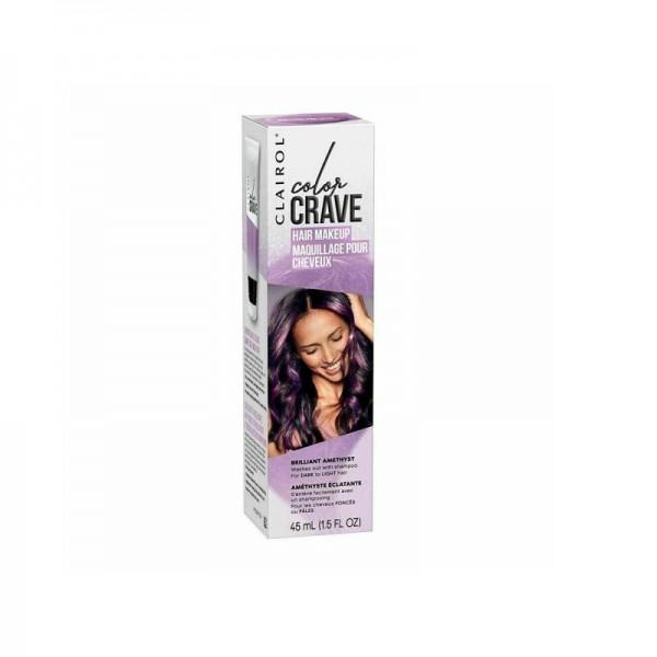Clairol Crave Brilliant Amethyst Hair Makeup 45ml