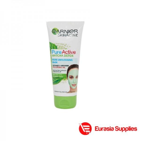 Garnier Skin Active Matcha Detox Pore Unclogging Mask 100ml