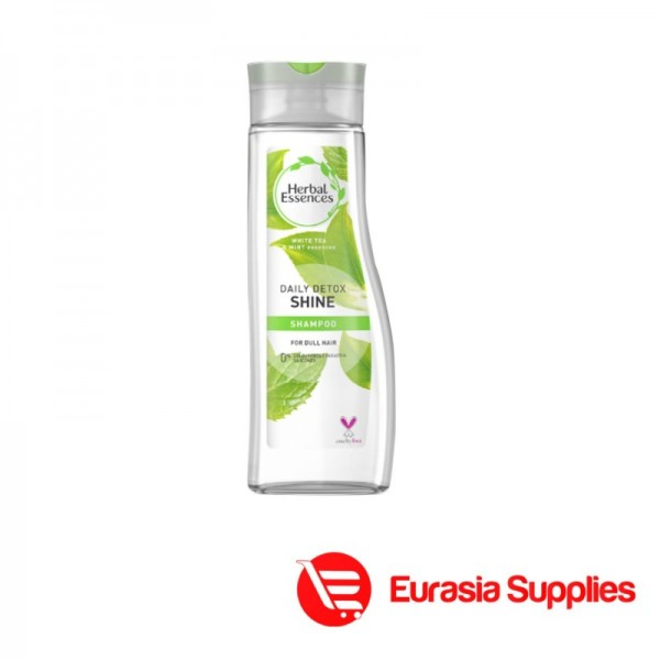 Herbal Essences Daily Detox Shine shampoo for Dull Hair 400ml