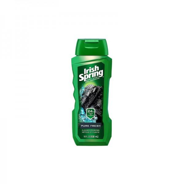 Irish Spring Pure Fresh With Charcoal Body Wash 532ml