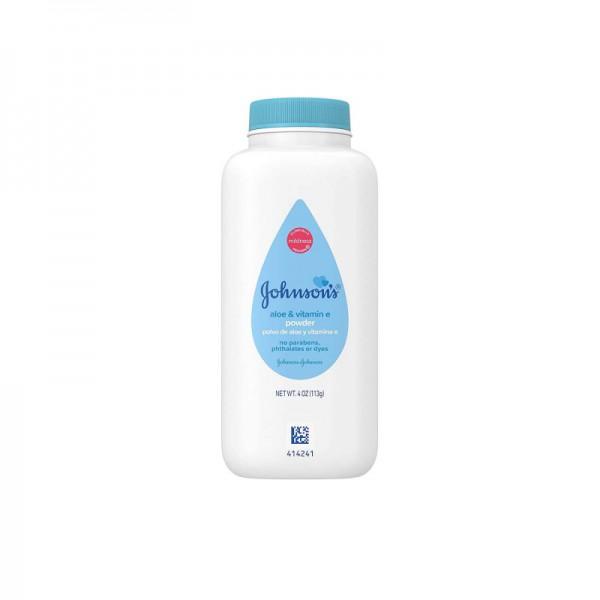 Johnsons Aloe & Vitamin E Baby Powder 113g
