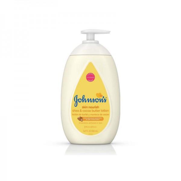 Johnson's Baby Skin Nourish Shea & Cocoa Butter Lotion 500ml