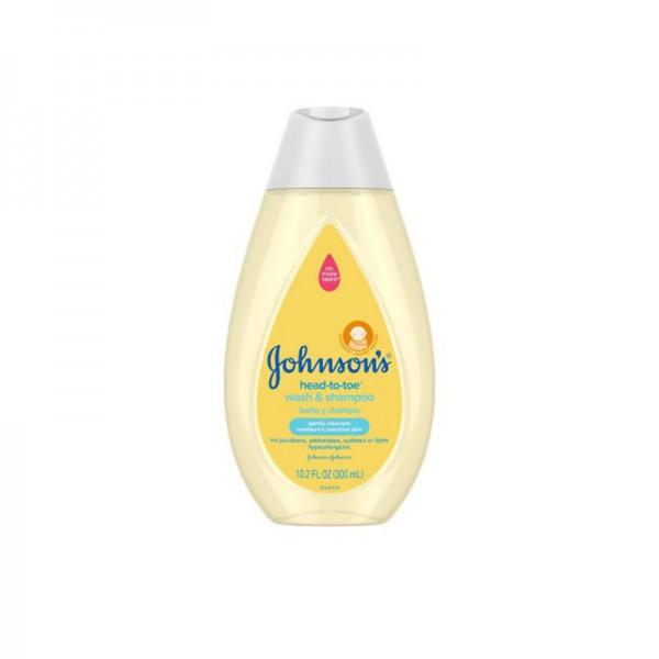 Johnsons Head-To-Toe Baby Wash & Shampoo 300ml