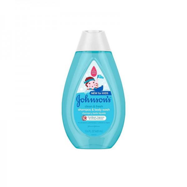 Johnson's Kids Clean & Fresh Shampoo & Body Wash 400ml