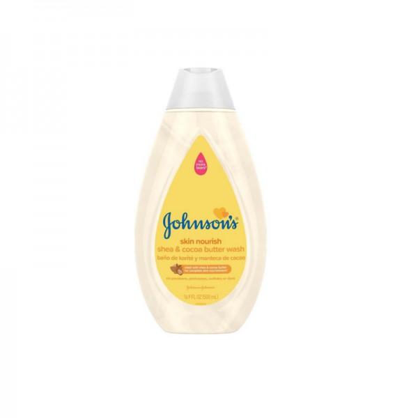 Johnsons Skin Nourish Shea & Cocoa Butter Baby Wash 500ml