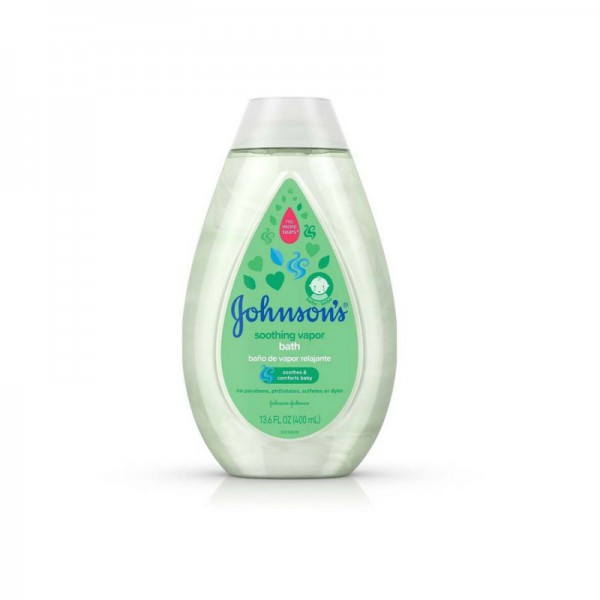 Johnsons Soothing Vapor Soothes & Comforts Baby Bath 400ml