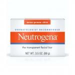 Neutrogena Acne Prone Skin The Transparent Facial Bar 99g