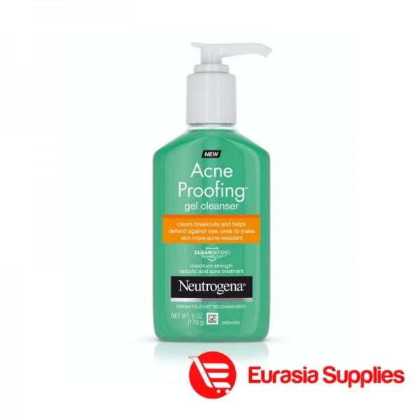 Neutrogena Neutrogena Acne Proofing Gel Facial Cleanser with Salicylic Acid 170G