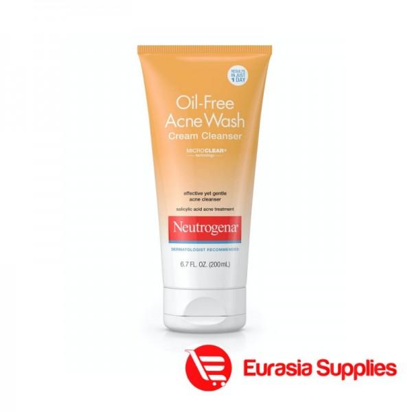 Neutrogena Neutrogena Oil-Free Acne Wash Cream Cleanser 200ml