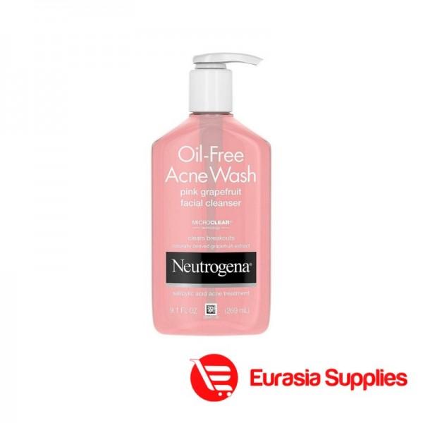Neutrogena Oil-Free Pink Grapefruit Pore Cleansing Salicylic Acid Acne Wash - 269ml