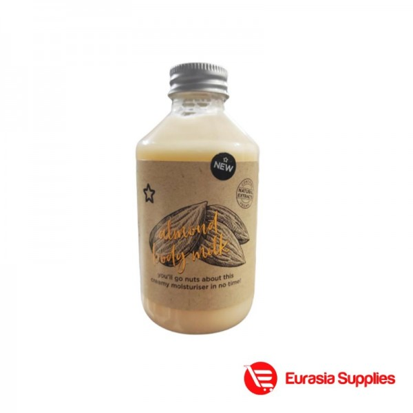 Superdrug Almond Body Milk 250ml
