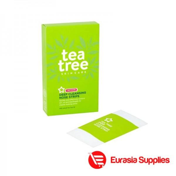 Superdrug Tea Tree 6 Action Deep Cleansing Nose Strips