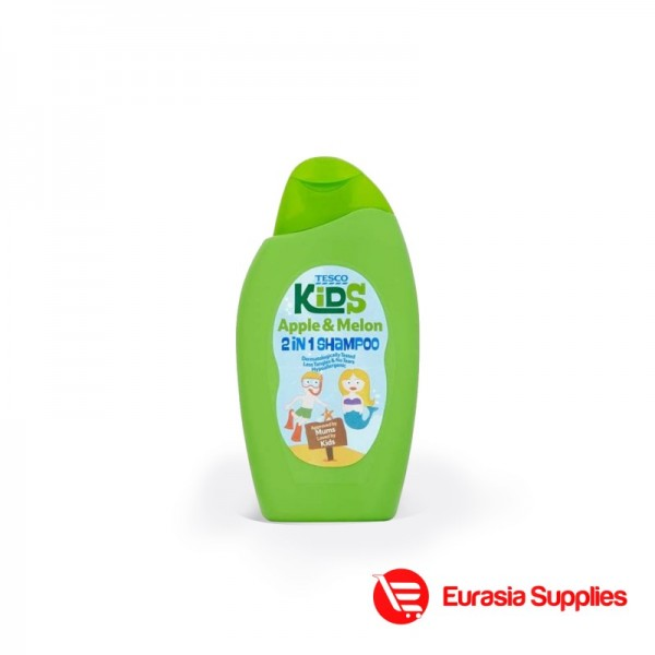Tesco Kids Apple Melon 2 In 1 Shampoo 250ml In Bd